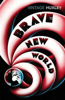 Brave New World by Aldous Huxley Paperback Book Free Shipping!