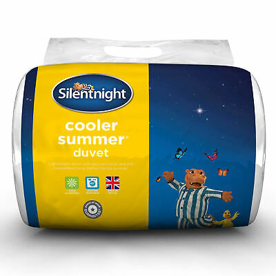 Silentnight Cooler Summer Duvet - 10.5 Tog - Single Double or King