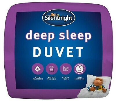 Silentnight Deep Sleep Duvet / Quilt - 15 Tog - Single Double King Size or SK