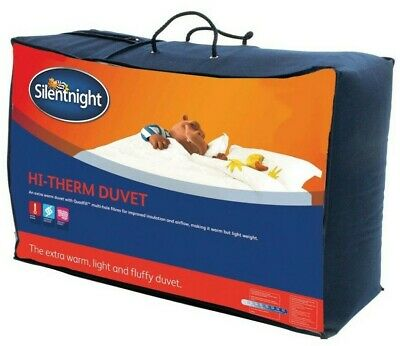 Silentnight Hi-Therm Duvet / Quilt - 10.5 Tog - Single Double or King