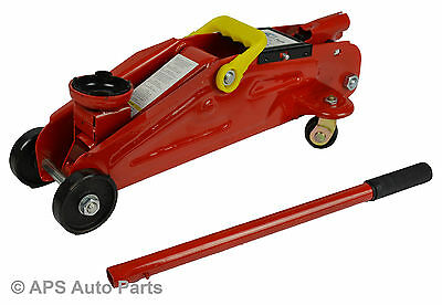 New 2 Ton Hydraulic Trolley Floor Jack Car Caravan Garage 2000kg Lift no Case CE