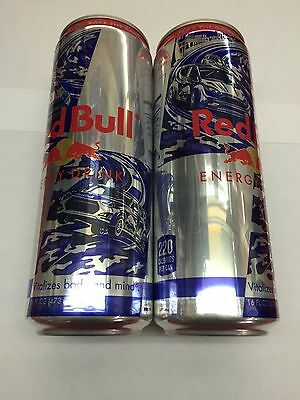 Red Bull Grc Limited Edition Can.2x16oz Cans.Global RallyCross