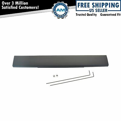 OEM 8C3Z9940602EA Flex Step Tailgate Center Molding Black for Ford Super Duty