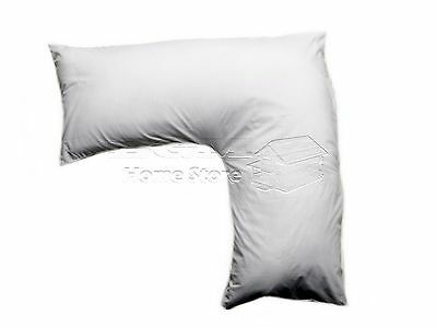 White V Shaped Pillow - Orthopaedic Maternity Pregnancy Nursing Baby Support