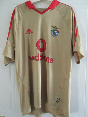 Benfica 2004-2005 Third 3rd Football Shirt Size Large Mans /38011