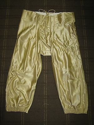 Lot of 130 New Riddell Youth Dazzle Slotted Football Pants- Vegas Gold Small / M
