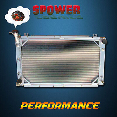 3 Row Aluminum Radiator For Nissan Patrol GQ Y60 TD42 RD28T Diesel 6Cyl AT 87-97