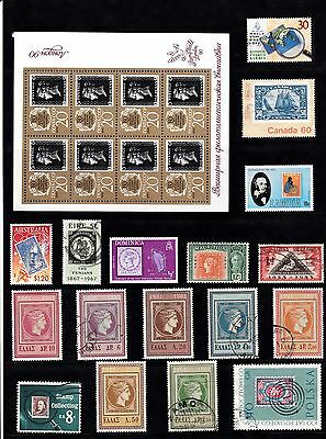 STAMP on STAMP Thematic STAMP COLLECTION Mint Used REF:QA262