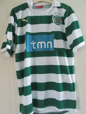 Sporting Lisbon 2011-2012 Home Football Shirt Size Large /38056