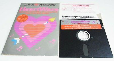 Apple 2: Heart Ware - Animated Friendship Greeting Disk and Love Note Maker