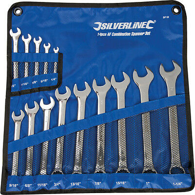 NEW Combination Spanner Set 14 Piece Each
