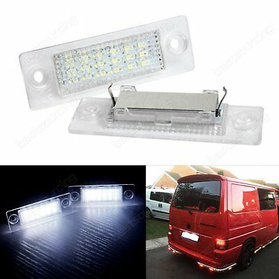 VW Touran Caddy Golf Plus Skoda Jetta Passat T5 LED License Number Plate Light