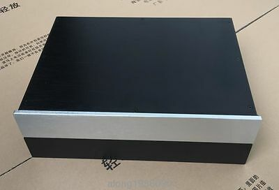 BS4307 Aluminum chassis preamp case DAC cabinet Power supply box L155-39