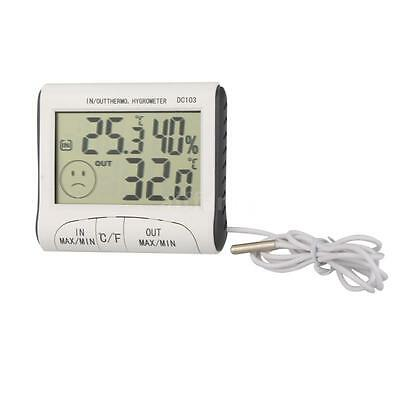 New Digital LCD Humidity Hygrometer Temperature Thermometer Indoor Outdoor AY