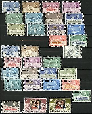 British Antarctic Territory   Lot Of Stamps & S/s Mint Never Hinged