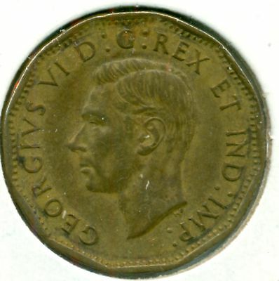1943 Canada Five Cents Tombac, Nice Ef, Great Price!