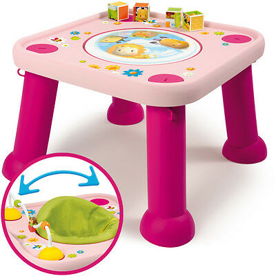 Smoby Cotoons Baby Activitytisch Youpi Baby 2in1 (Pink)