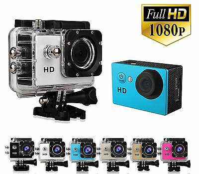 Video Camara Deportiva Full Hd 1080P