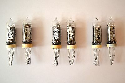 Lot of 6pcs IN-14 NEW NIXIE TUBES NOS 100% GARANTY WORKING IN14