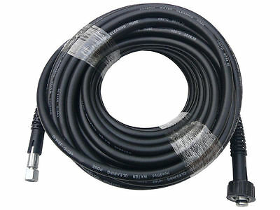 20m Pressure Washer Hose - 14mm Pump End Fitting - suits washers up to 4300psi