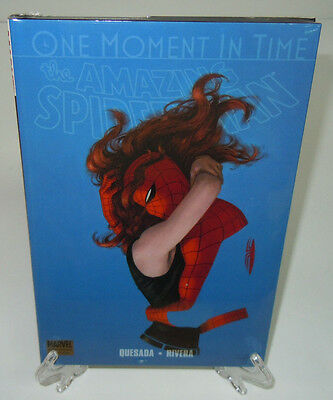 Spider-Man: One Moment in Time Marvel Comics HC Hard Cover Brand New Sealed