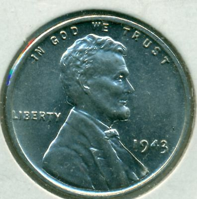 1943-P Lincoln Cent, Gem Brilliant Uncirculated, Great Price!