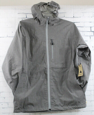 New Burton Waterfield 2.5L Jacket Large Pewter Heather