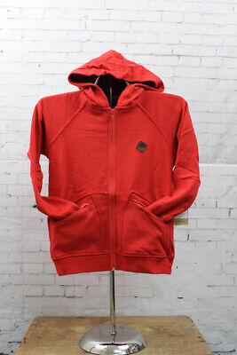 New Burton Girls Youth Cranberry Fleece FZ Jacket Medium Hot