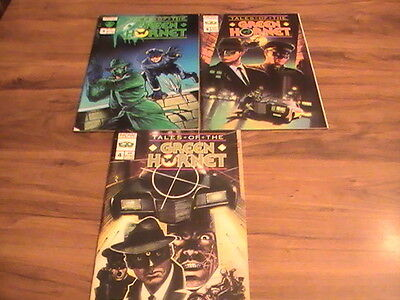 Tales of the Green Hornet #2,3,4 lot of 3 comics, 1991
