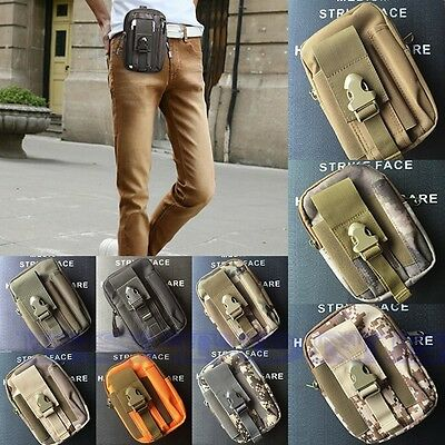 Small Utility Tactical Waist Pack Pouch Military Camping Hiking Bag Outdoor Bag