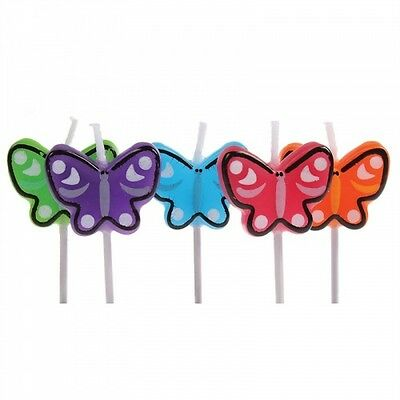 Butterfly Birthday Candles
