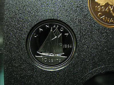 1994 Canadian Proof Dime ($0.10)