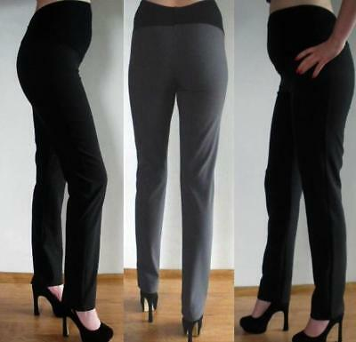Elegant Maternity Pregnancy Formal Skinny Trousers without crease 8 10 12 14 16