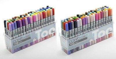genuine .Too Copic Ciao 72 Colors A / B / free your select Set  Made in Japan