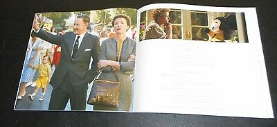 Disney SAVING MR BANKS Tom Hanks Emma Thompson Colin Farrell Paul Giamatti 40 pg