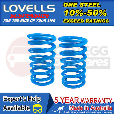 Rear Raised Cargo/LPG Coil Springs Susp For Ford Falcon BA BF Ser1. Sedan02-07