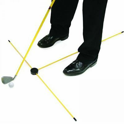 Sklz Practice Pod Pro Golf Trainer Stance Position Alignment Guide Training Aid