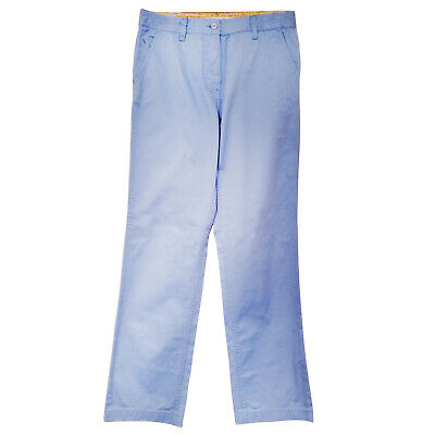 Kartel Womens Traditional Fit Trousers - New Ladies Pants Coloured Cord Chino
