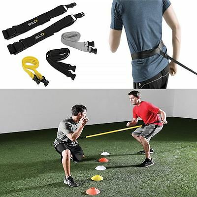Sklz Reaction Belts Gym Training Workout Fitness Leash Ring Shadow Boxing Aid