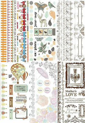 Kaisercraft Colour Rub-On Transfer Sheet Fr Card Making Scrapbooking Art & Craft
