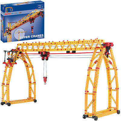 Fischer Technik Fischertechnik Advanced Super Cranes