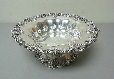 "Gorgeous American Redlich & Co Sterling Silver Large 10.5"" Compote / Centerpiece"