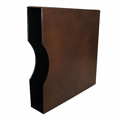 "Seven Seas 32mm Slipcase for Seven Seas ""D"" Ring Binder - Brown"