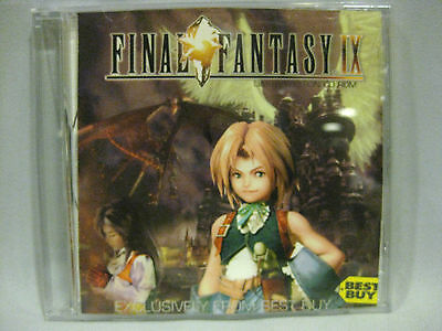 Very Rare Final Fantasy Ix Best Buy Exclusive  Limited Edtion Cd Rom Disk