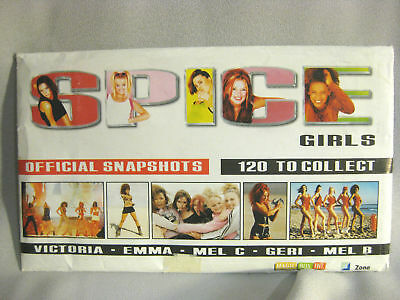 Rare Lot Of Spice Girl Snap Shot Album Collections