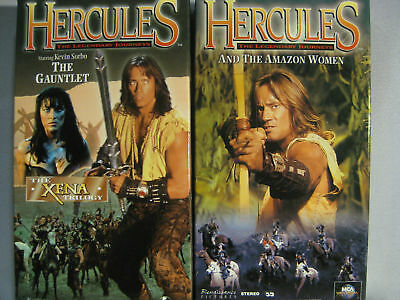 Hercules The Legendary Journeys Vhs Collectors Sets