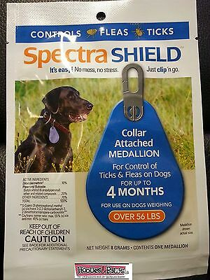 Spectra Shield Dog Flea and Tick 4 FOUR MONTH Treatment Large Dog