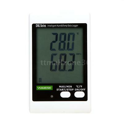 DWL LCD Handheld Temperature Humidity Data Logger Meter Thermometer Recorder