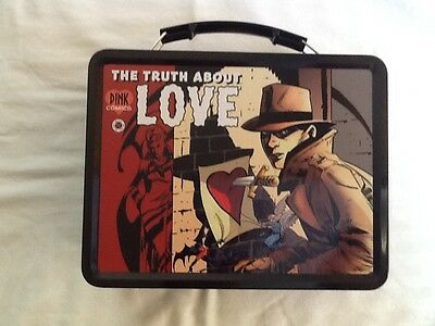 """NEW P!NK Alecia Moore """"the truth about love"""" lunch box"""