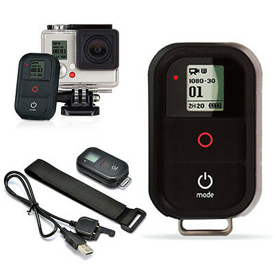 New WiFi Remote Control and Accessories Kits For GoPro Hero 4/3+/3 Controler